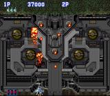 Aero Fighters SNES The 1st boss