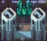 Aero Fighters SNES The 2nd boss