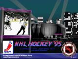 NHL 95 DOS Main Screen