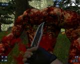 Serious Sam HD: The Second Encounter Windows That's one damn good knife.