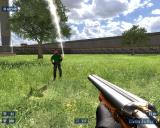 Serious Sam HD: The Second Encounter Windows Beheaded Bomber vs. Coach Gun.