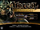 Unreal: Anthology Windows Install Menu (full screen)