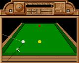 Billiards Simulator Amiga Starting the game in 3D view