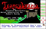 Transylvania Amiga Title screen