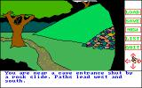 Transylvania Amiga Cave entrance is blocked; wonder if there's a way to clear it?