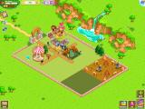 Zoo Story 2 iPad Overview of a low-level zoo