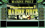 Nightmare Collection II: Marine Philt PC-98 Title screen