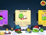 Angry Birds: Seasons iPad Episode selection screen