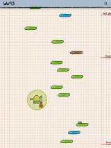 Doodle Jump iPad Jet packs makes you clear a lot of height quick