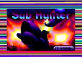 Sub Hunter Amstrad CPC Loading screen (tape version)