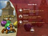 Luxor 2 iPad Game mode selection