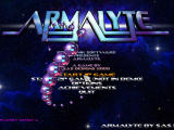 Armalyte Windows Main menu (demo version)