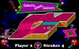 Fuzzy's World of Miniature Space Golf DOS In Galactic Giggle Gadgets...