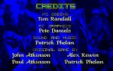 Premier Manager 2 DOS Game credits
