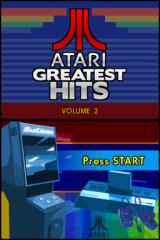 Atari Greatest Hits: Volume 2 Nintendo DS Title screen