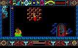 Lone Wolf: The Mirror of Death Amstrad CPC The game starts with you falling down.