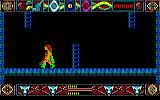 Lone Wolf: The Mirror of Death Amstrad CPC The ladder are drawn in ...