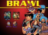 BRAWL iPad The main menu.