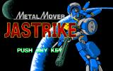 Metal Mover Jastrike PC-98 Title screen