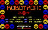 Robotron: 2084 Atari ST Title screen