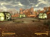Fallout: New Vegas - Honest Hearts Windows Camping place. Only rusty wagons remind you about people who were resting here