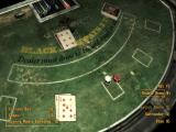Fallout: New Vegas - Dead Money Windows Playing blackjack with holographic croupier.