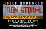 Iron Storm SEGA Saturn Title screen