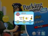 Parking Mania iPad Options for audio, e-mail functionality, and custom soundtrack via iPod