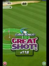 Flick Golf Android Getting a curve bonus