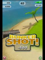 Flick Golf Android Minus points for hitting the sand