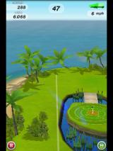 Flick Golf Android Trying not to hit the water