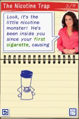 My Stop Smoking Coach: Allen Carr's EasyWay Nintendo DS It's the nicotine monster!