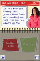 My Stop Smoking Coach: Allen Carr's EasyWay Nintendo DS This section is completed. I can repeat it or move on.
