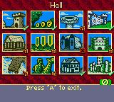 Heroes of Might and Magic II Game Boy Color Buildings left to construct in my town