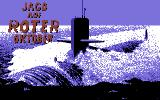 The Hunt for Red October Commodore 64 Title screen (German version)