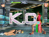 Dead or Alive 2 Dreamcast KO on Tina