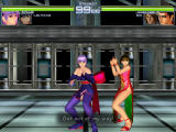 Dead or Alive 2 Dreamcast Tag Battle start