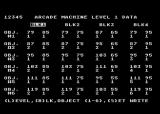 The Arcade Machine Atari 8-bit Setting up the games level data