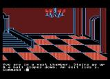 Transylvania Atari 8-bit One of the castle chambers