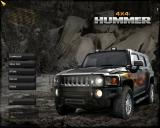4x4 Hummer Windows Main menu