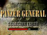 Panzer General III: Scorched Earth Windows Title loading screen