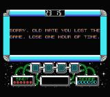 Gilbert: Escape from Drill MSX I lost and lose one hour of game time.