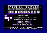 Mindshadow Amstrad CPC Title screen
