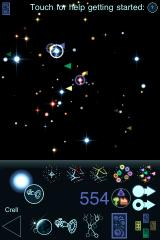 Ascendancy iPhone The view of the galaxy and its many star systems.