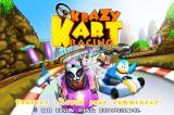 Krazy Kart Racing iPhone Title screen