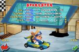 Krazy Kart Racing iPhone Character selection. This is Sparkster from the Rocket Knight series!
