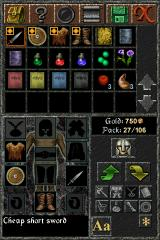 The Quest iPhone Inventory (vertical mode)