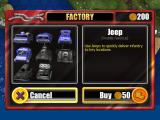 Great Little War Game iPad In the factory, you can spend your credits to build new vehicles.