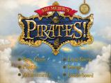 Sid Meier's Pirates! iPad Title screen