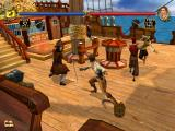 Sid Meier's Pirates! iPad After boarding the enemy ship, the battle is solved by a duel against its captain.